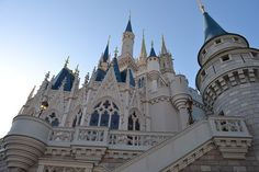 View of Cinderella's Castle from Fantasyland