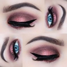 More of my disco party eyes using @anastasiabeverlyhills dip brow in... ❤ liked on Polyvore featuring beauty products, makeup, eye makeup, eyes, eyebrow makeup, party makeup, illamasqua cosmetics, holiday party makeup and eyebrow cosmetics