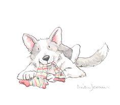 dog illustration | The Illustration Cupboard