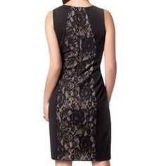 Figure-Flattering Lace-Inset Dress.  If it's your 1st order with me, use the code WELCOME and save even more by getting 20% off your order of $50 or more AND you'll also get FREE direct delivery shipping!