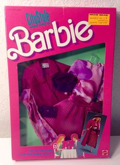 1987 Barbie City Style Fashions Out on The Town Looks 4434 | eBay
