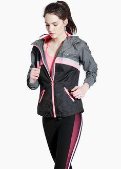 Fitness & Running - Cortavientos ultra ligero capucha