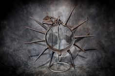 A spiked collar. Most of the time, torture devices like these are thought of as of European design and use, but many of these contraptions were used in the American Colony. Victorian Crime And Punishment, Human Mind, Good Times, Helmet, Instruments, American, Image, Design, Accessories