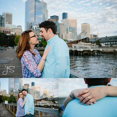 engagement photos in Seattle's waterfront #engagement #engaged #engagementphotos #engagementphotography #love #Seattleengagementphotos #seattlewaterfront #greatwheel #downtownseattle