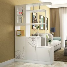 Amazing Shelving Units Used as a Room Divider