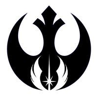Rebel Alliance / Jedi Order || This outline only as a tattoo? Maybe small on the bottom of the shoulder blade.