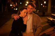 "Saoirse Ronan as ""Eilis"" and Emory Cohen as ""Tony"" in BROOKLYN."