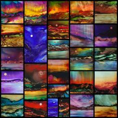The creative art possibilities are endless! Beautiful art using ALCOHOL INKS | Dreamscaping With June Rollins® I found helpful information here. Please also visit www.JustForYouPropheticArt.com and https://www.facebook.com/Propheticartjustforyou for more colorful Art paintings and prints. Thank you so much! Blessings!