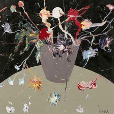 John-Michael Metelerkamp, The Pink Lady's Delusion 2018 Pink Ladies, It Works, Artist, Anime, Painting, Painting Art, Pink Lady, Paintings, Nailed It