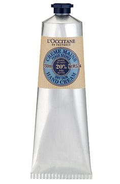 L'Occitane Shea Butter Hand Cream — Best thing ever I don't leave home without it!