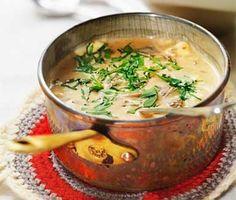 Trattkantarellsoppa Veggie Recipes, Wine Recipes, Cooking Recipes, Veggie Food, Vegan Vegetarian, Vegetarian Recipes, Swedish Chef, Vegan Baking, Love Food