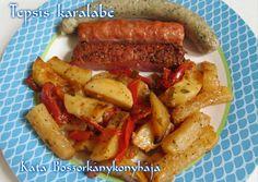 Sausage, Food, Eten, Sausages, Meals, Diet
