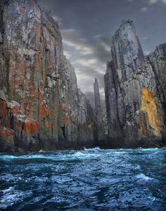 L'image du jour : L'île Tasman, enTasmanie