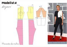 Jumpsuit , patterns instructions