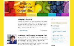 Holistic Nutrition Counseling