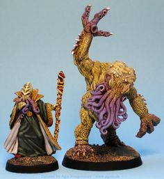 Agis Page of miniature painting and gaming - Call of Cthulhu