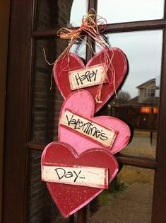 Love decorating for Valentine's - but not before February!!