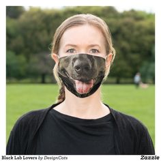 Black Lab Lovers Adult Cloth Face Mask Funny Face Mask, Face Masks, Dog Nose, Face Dog, Black Labrador Retriever, Smiling Dogs, How To Protect Yourself, Big Black, Happy Dogs