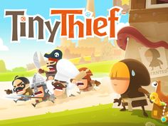 Tiny Thief - Free On Android & iOS Gameplay Trailer App Of The Day, Cute Games, Mini Games, Applications, Mobile Game, Android Apps, Free Android, Game Design, Free Apps