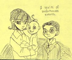 the baudelaire siblings by why-so-silent on DeviantArt. Very cute!!!