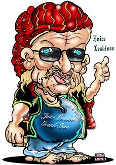 Karikatyyri karikatyyrit Muotokuva Juice Leskinen Muotokuva karikatyyri on myös huippuhauska lahjaidea esim. 50 vuotiaalle lahjaksi tai huippuhauska syntymäpäivälahja hänelle jolla on jo kaikkea, eikä tarvitse tavaraa!