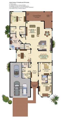 Wesley Chapel Homes for Sale Lake House Plans, House Layout Plans, Craftsman House Plans, Dream House Plans, Small House Plans, House Layouts, House Floor Plans, My Dream Home, Home Room Design
