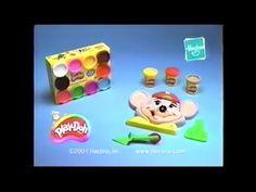 Play Doh Chuck E. Cheese Playset Ad (2001) - YouTube