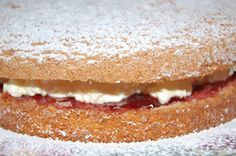 Very simple sponge cake recipe, 3 ingredients and can be used to make many simple desserts