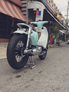 Honda Dream BB Cub Street Bobber