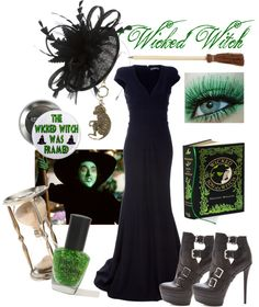 """Wicked Witch of the West"" by mollyandbird on Polyvore"