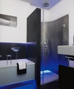 Mała, funkcjonalna łazienka