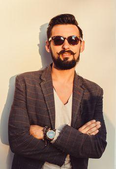 Gentleman's Beard Balm and Mustache Wax Mustache Wax, Beard Balm, Gentleman, The Balm, Mens Sunglasses, Beauty, Fashion, Moda, Fashion Styles