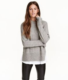 Pullover | Graumeliert | Damen | H&M DE