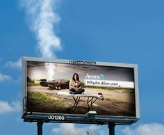 How brilliant is this billboard?  #OOH #OutofHomeAdvertising