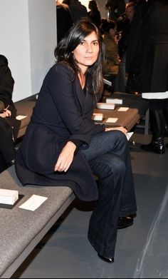 Emmanuelle Alt At New York Fashion Week