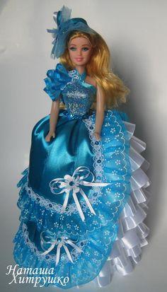 Mattel Dolls, Ooak Dolls, Crochet Barbie Patterns, Gown Pattern, Decoupage Box, Queen Costume, Doll Repaint, Doll Crafts, Diy Toys