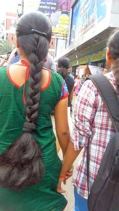 Indian Long Hair Braid Indian Hairstyles, Girl Hairstyles, Braided Hairstyles, Indian Long Hair Braid, Super Long Hair, Braids For Long Hair, Gorgeous Hair, Hair Goals, Pretty Dresses