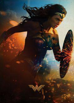 Title:Wonder Woman Stars: Gal Gadot, Chris Pine, Robin Wright Rating: (for sequences of violence and action, and som. Logo Wonder Woman, Wonder Woman Film, Gal Gadot Wonder Woman, Wonder Women, Batman Vs, Superman Nails, Batman Superhero, Gotham Batman, Batman Robin