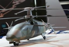 Chinese Z-X Experimental Compound Helicopter with Coaxial Rotors ~ Chinese Military Review