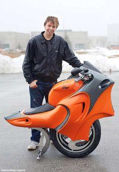 One, la motocicleta del futuro!