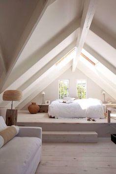 Bedroom roof space