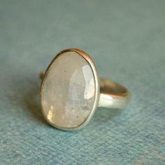 Handcrafted sterling silver free from ring with faceted moonstone-New Arrival! $56 #moonstone#sterlingrings#handcraftedjewelry