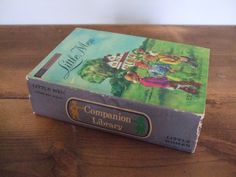 Little Woman Little Men Vintage Companion Book by Louisa May Alcott from jessamyjay