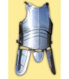 """Coraza medieval """"Swordmaster"""" con escarcelas. Medieval cuirass armor with tassets."""