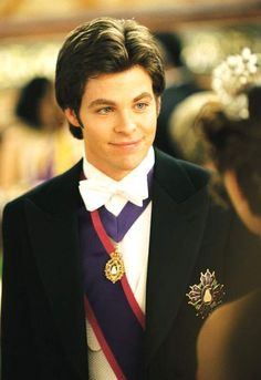 Princess diaries 2: Chris Pine    @Micah Georges - I will never be able to flip through the channels and NOT stop if this movie is playing. haha!