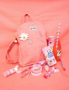 Big Bud Mini Back Pack- Faded Flamingo Pink