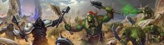 Bonesplitterz vs Tempest Lords by Cynic-pavel.deviantart.com on @DeviantArt