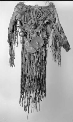 A Sakha shaman's coat, part of a full ceremonial outfit