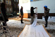 Mayamural, day 5, last. 12/18 Day 5, last. #maya #mural #cracow #2012 #graffiti #streetart Cracow, Poland.