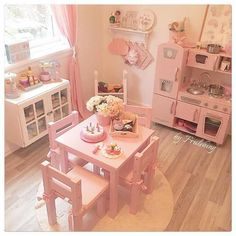 Playroom will constantly be positioned for children to spend the most time of theirs. Decorating a kid's playroom must compound on the electricity, interests, and character of your small one. Baby Bedroom, Girls Bedroom, Bedroom Decor, Bedroom Ideas, Bedroom Makeovers, Room Baby, Toddler Rooms, Toddler Princess Room, Toddler Kitchen Set